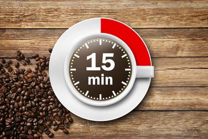Kaffeepause Symbol
